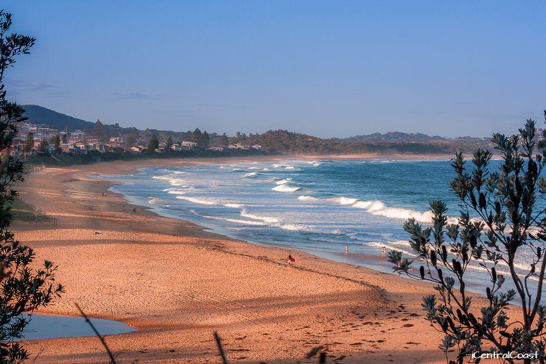 View of Wamberal Beach