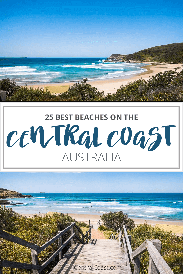Looking for a great beach on the Central Coast NSW Australia? These are the best beaches that I know, all within 2 hours drive from Sydney.