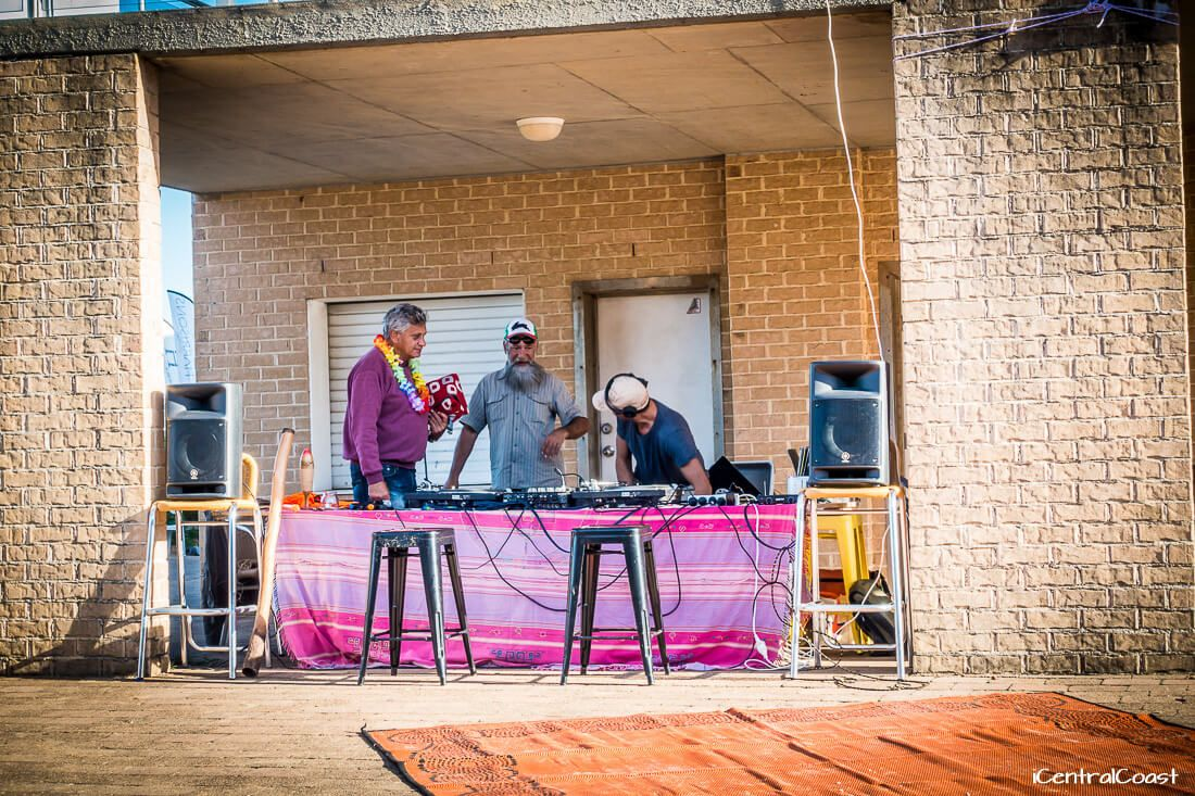 DJ and music at North Avoca Beach