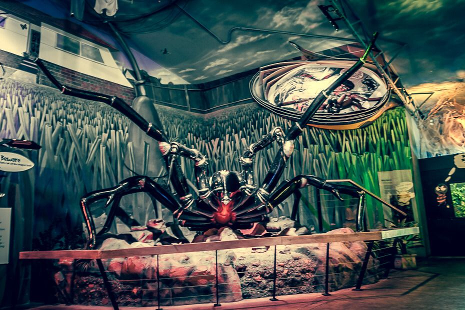 The giant mechanical spider