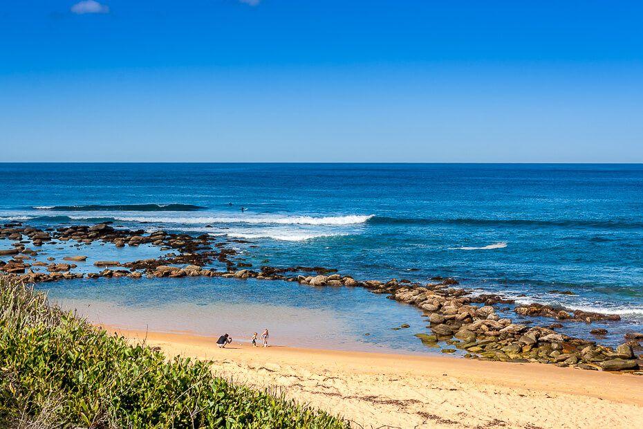 Copacabana NSW rockpool