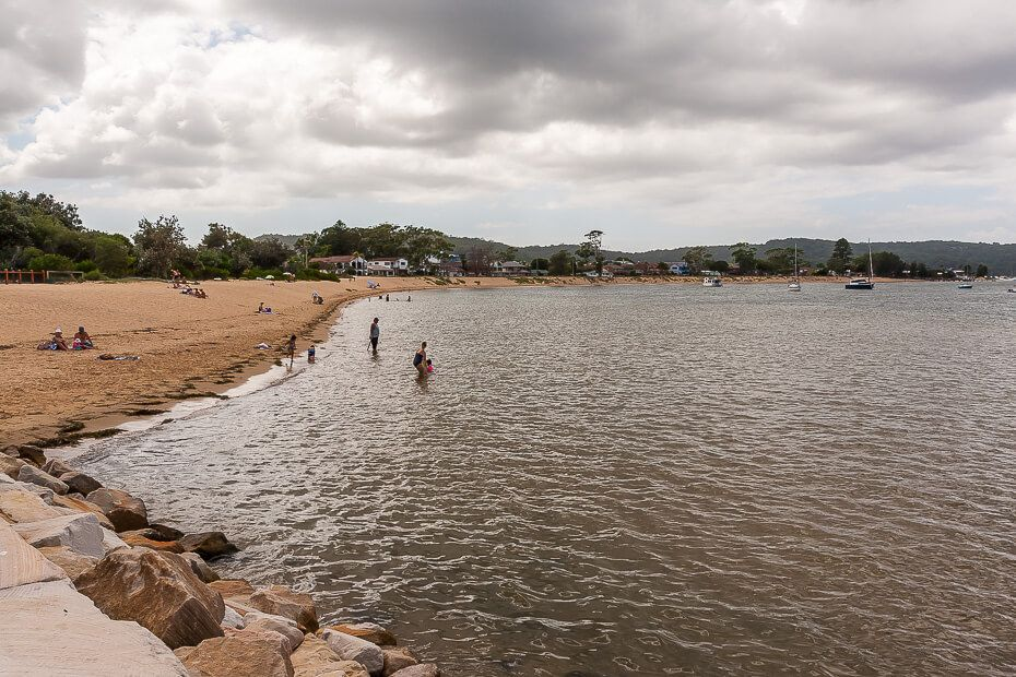 Ettalong Beach swimming