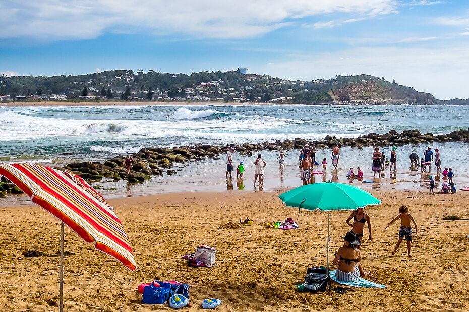 Avoca Beach summer