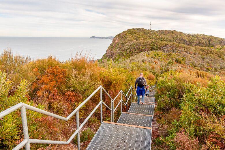 Wyrrabalong Coast walking track
