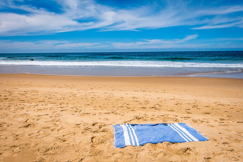 Lalen Turkish Towel is one of the best beach towels to buy in Australia.