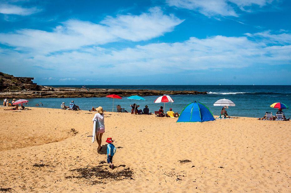 Putty Beach bouddi nsw
