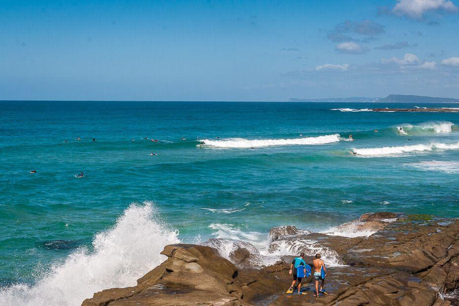 Surfing Soldiers Beach