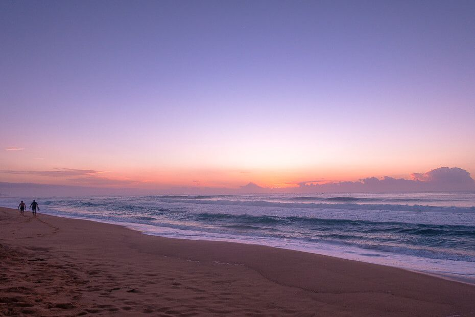 Beautiful sunrise Wamberal Beach