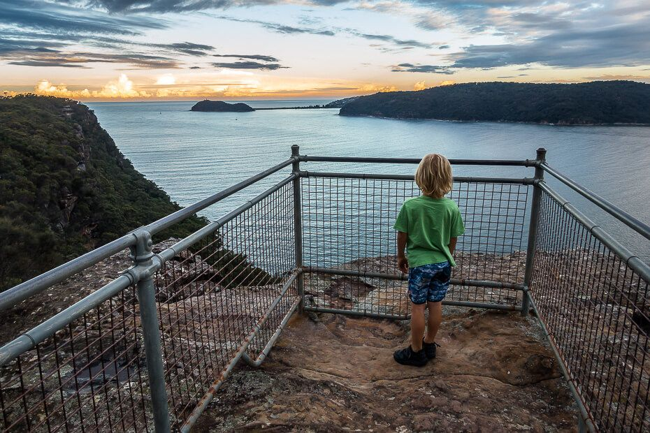 Warrah Lookout in Brisbane Water National Park