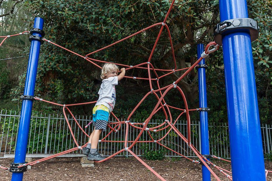 Playground McKell Park Brooklyn