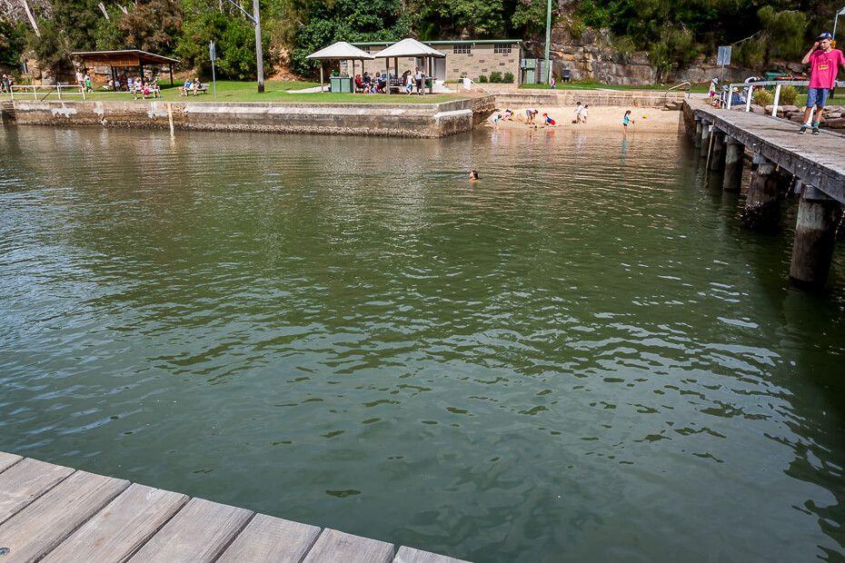 Ocean pool McKell Park Brooklyn
