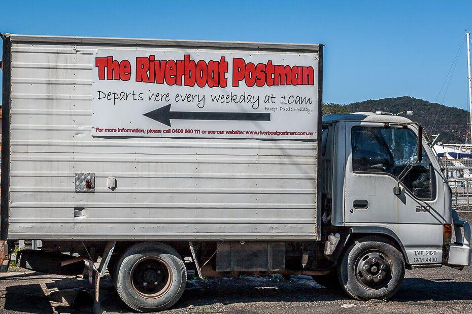 Riverboat Postman truck