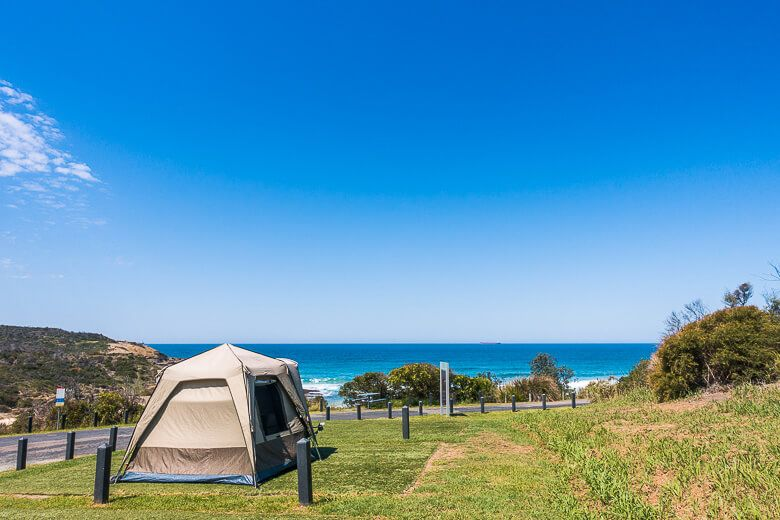Camping on the Central Coast