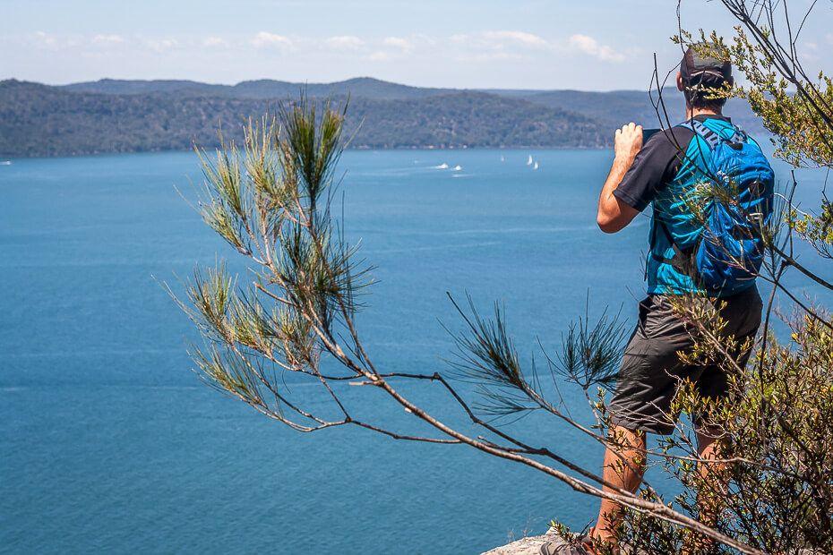Overlooking Brisbane Water from Warrah Lookout
