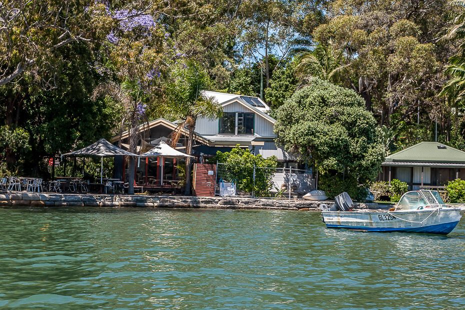 cafe on the hawkesbury river