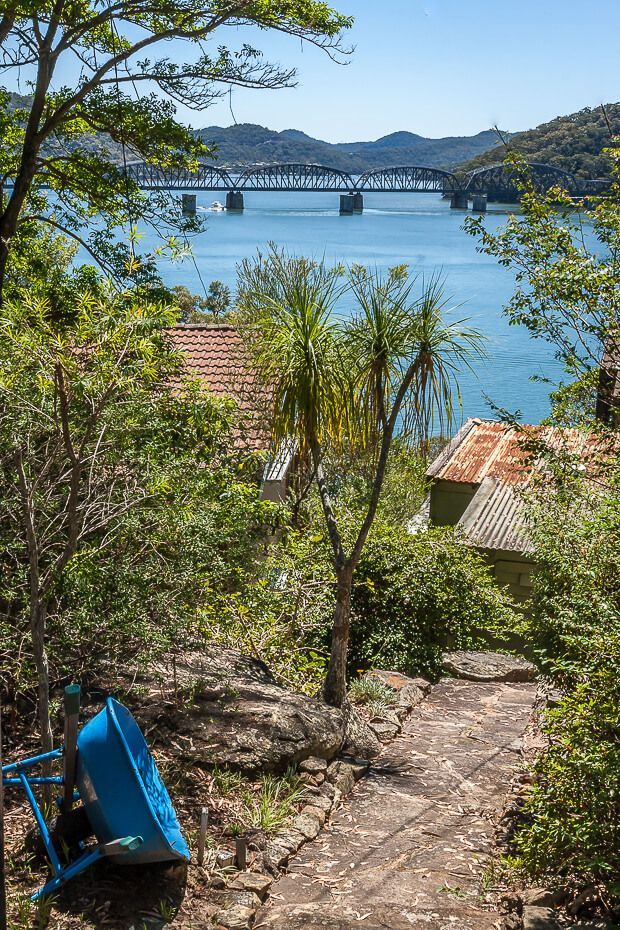 View of the Hawkesbury River and bridge