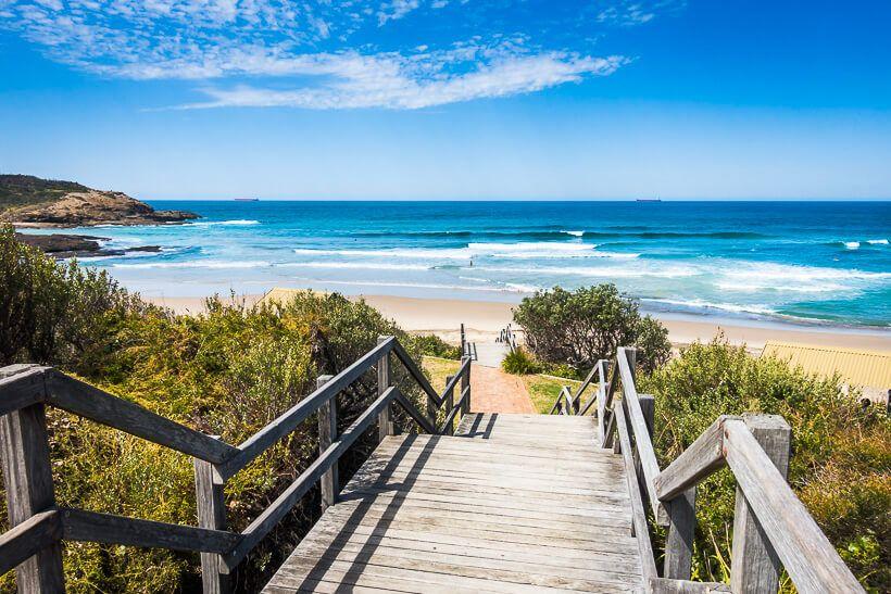 Central Coast beaches - Frazer Beach