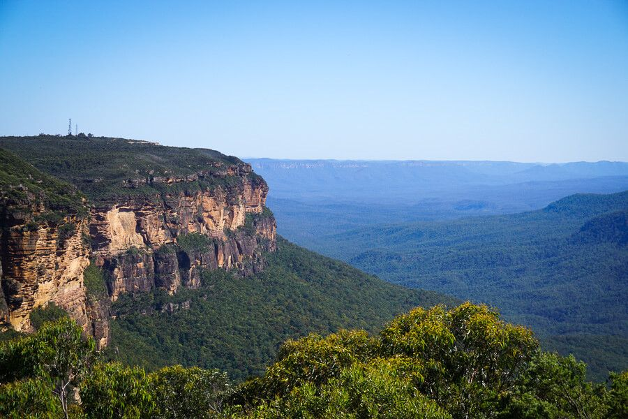 View from Jamison Lookout