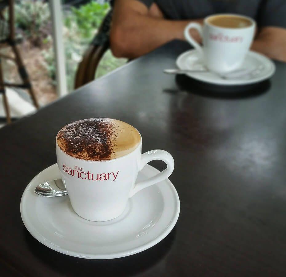 Sanctuary Cafe coffee
