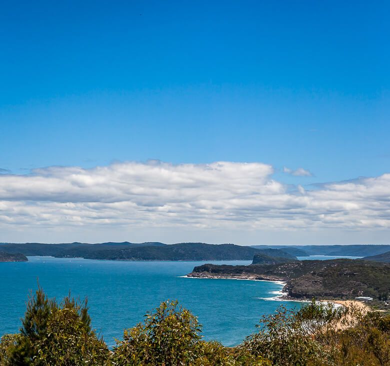 You can see Sydney and Killcare Beach from Marie Byles Lookout.