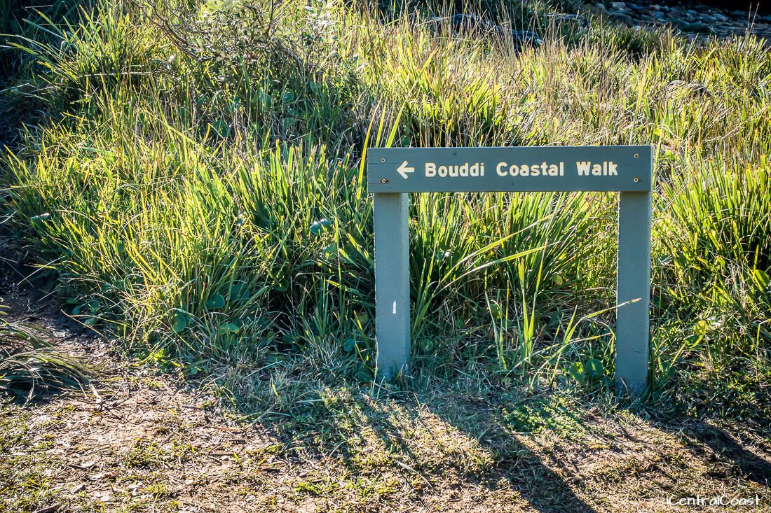 Sign for Bouddi Coastal Walk