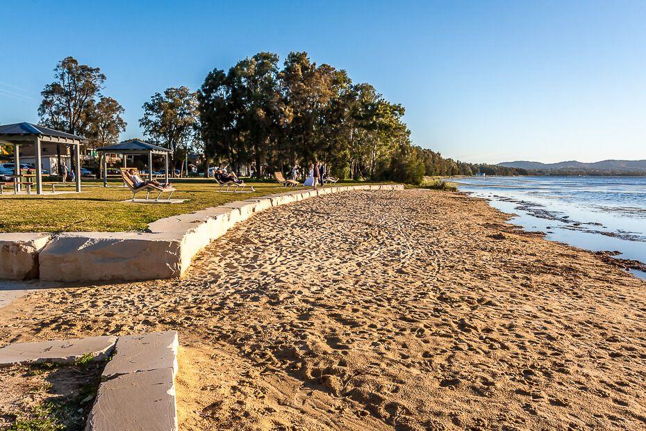 The new Long Jetty Beach