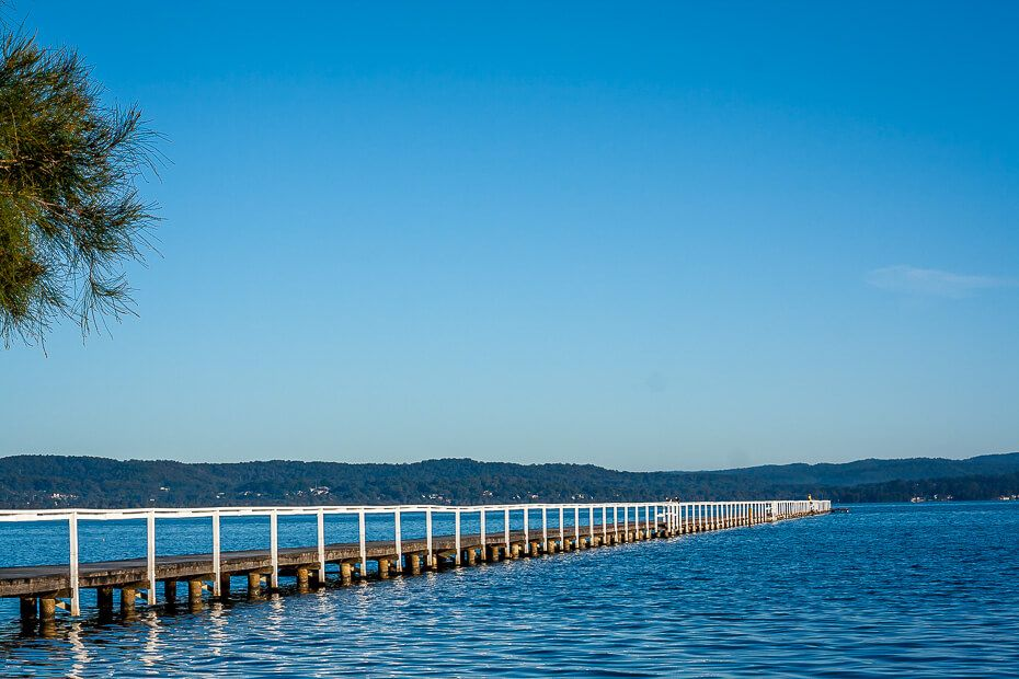 the longest jetty in New South Wales