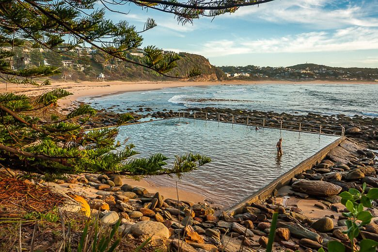 Macmasters Beach ocean pool