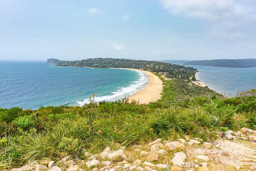 Palm Beach view from Barrenjoey Headland