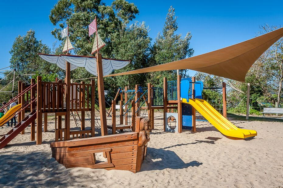 Playground Camping Ground Patonga
