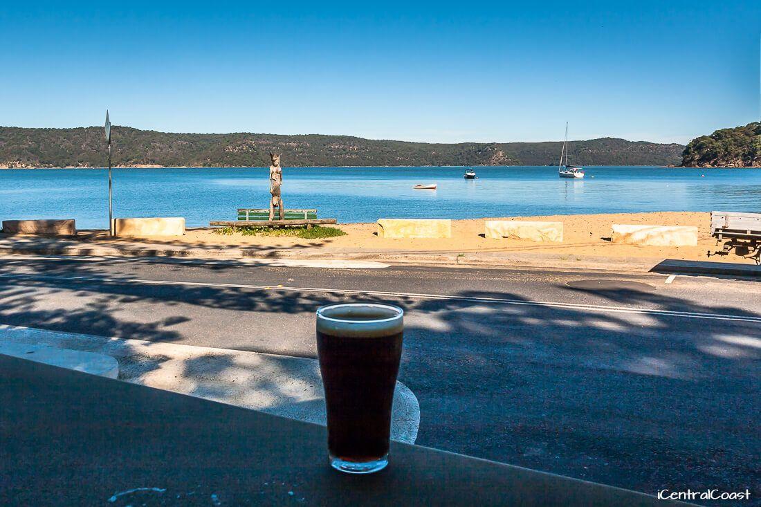 Patonga Beach view from Hotel