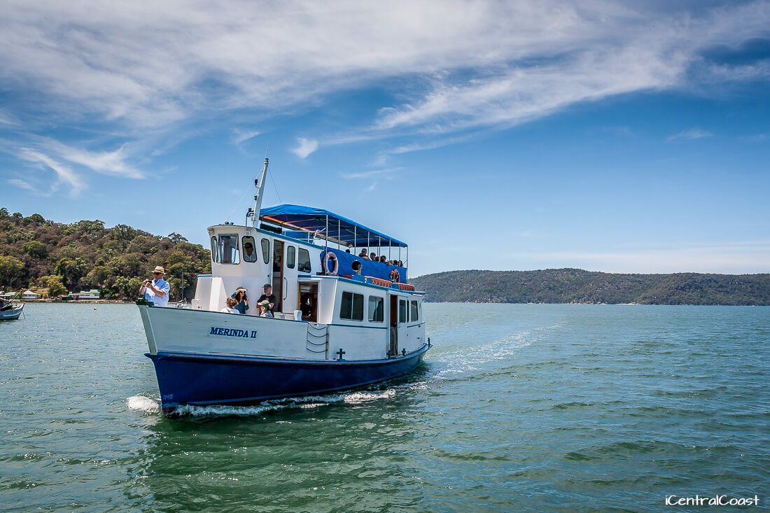 Palm Beach and Hawkesbury River Cruises: Heading to Bobbin Head and back.
