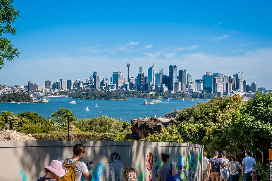 View of Sydney from Taronga Zoo