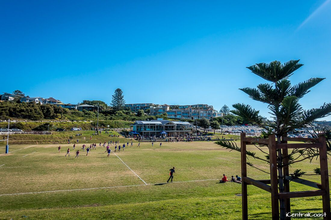 Oval at the Haven - Terrigal Trojans