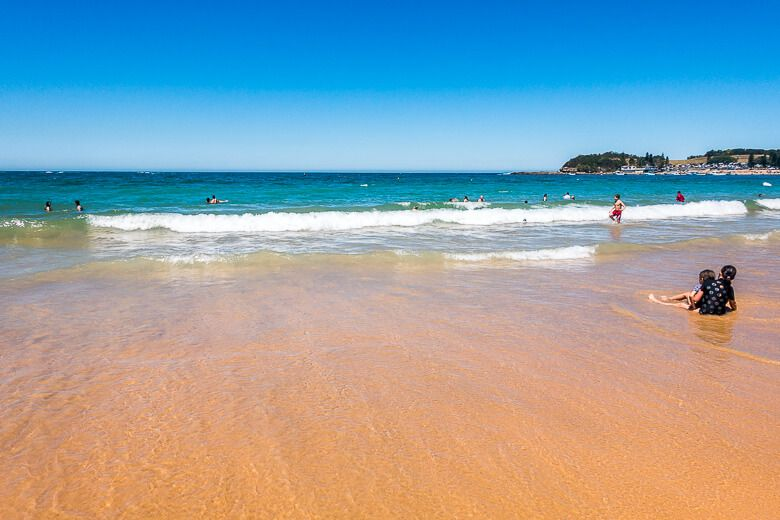 Swimming at Terrigal Beach