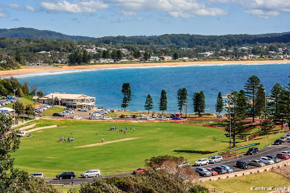 View of Terrigal from the Skillion