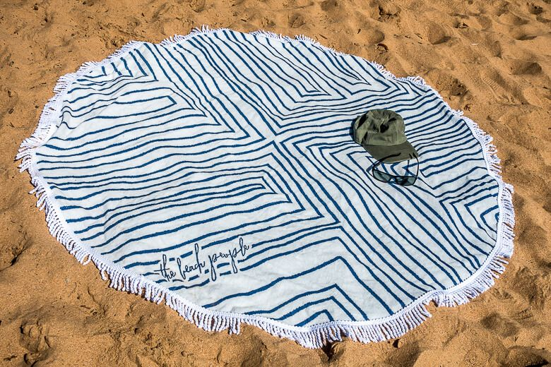 The Round Towels by The Beach People are great quality and stylish.
