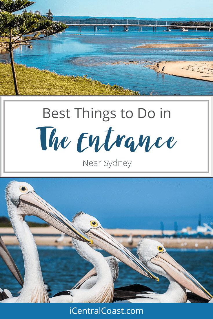 The Entrance, Central Coast is located 90 minutes from Sydney. You'll find nice family attractions here and nearby which make this place a great getaway from Sydney. Find out what there is to do.