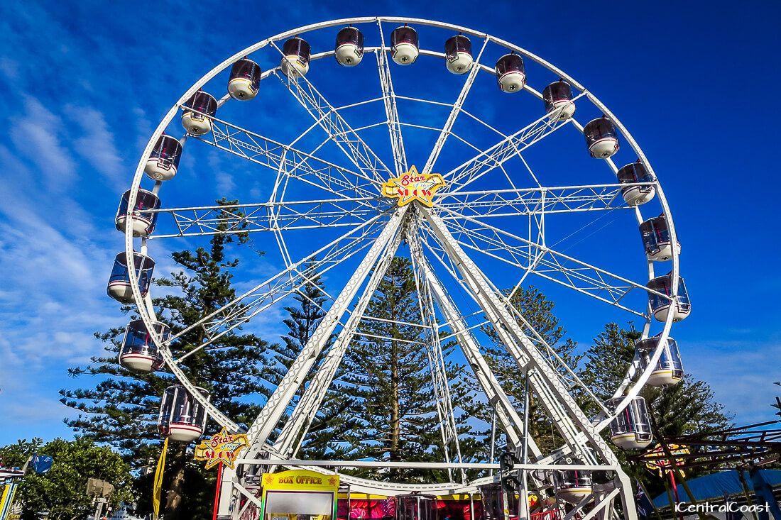 Ferris wheel at Memorial Park