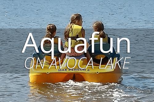 Aquafun on Avoca Lake