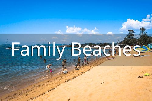 Family beaches on the Central Coast