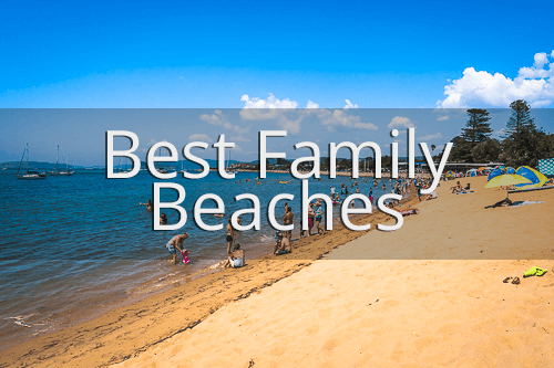 Best family beaches Central Coast