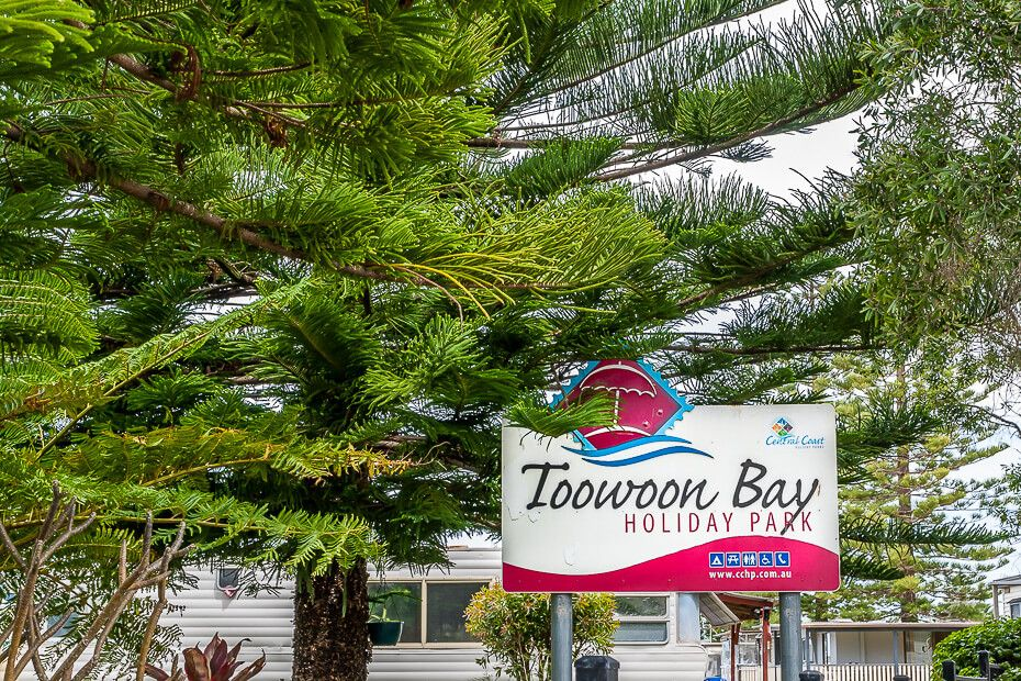 Toowoon Bay Holiday Park signpost