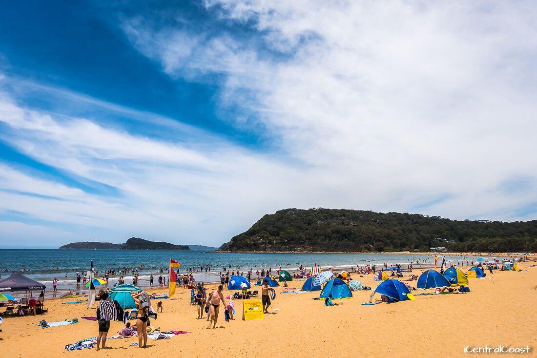 Patrolled beach - Ocean Beach NSW