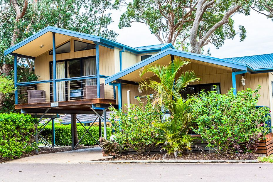 Seabreeze Townhouses - NRMA Ocean Beach Resort & Holiday Park