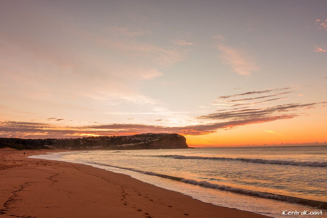 Sunrise at Macmasters Beach