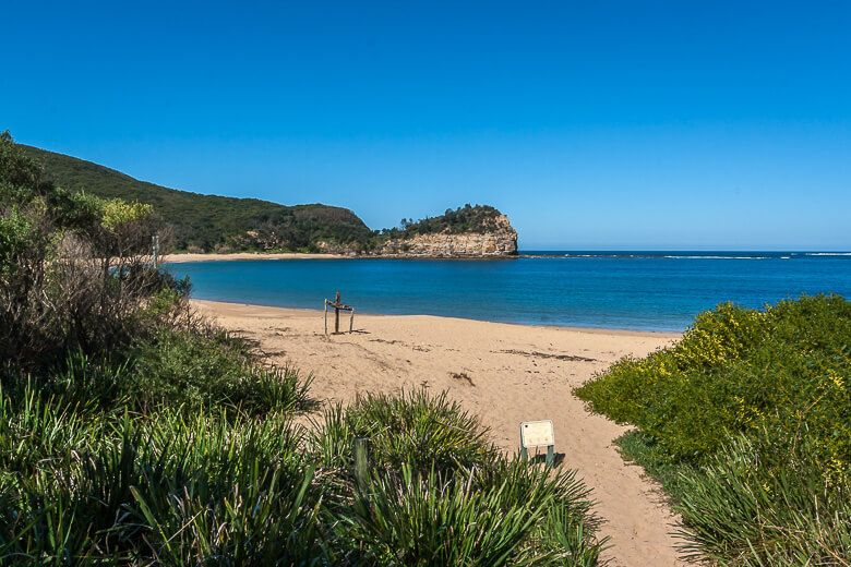 Maitland Bay walk in Bouddi National Park