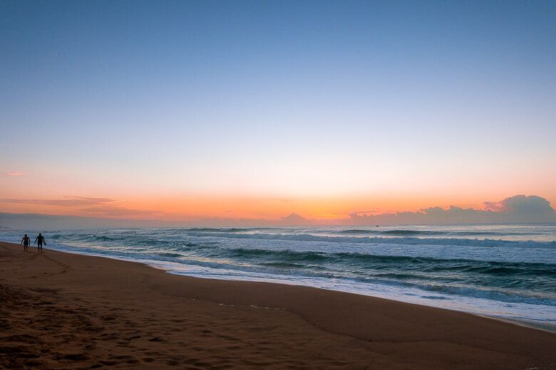 Central Coast beach sunrise