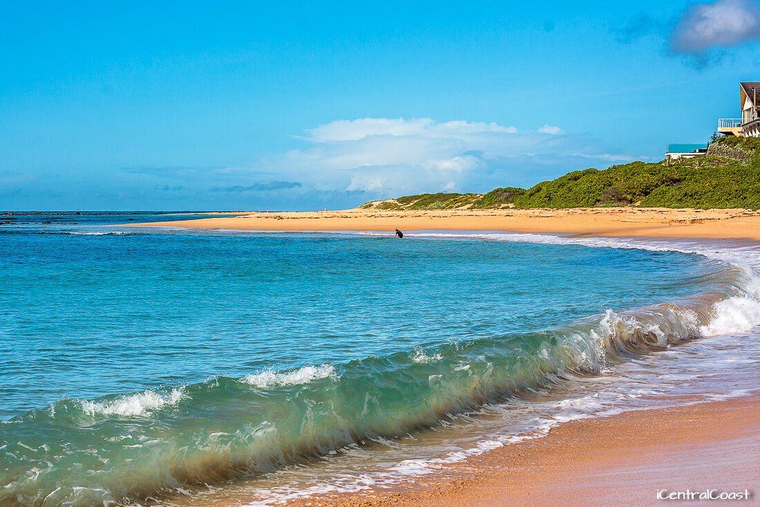 Blue Bay NSW beach
