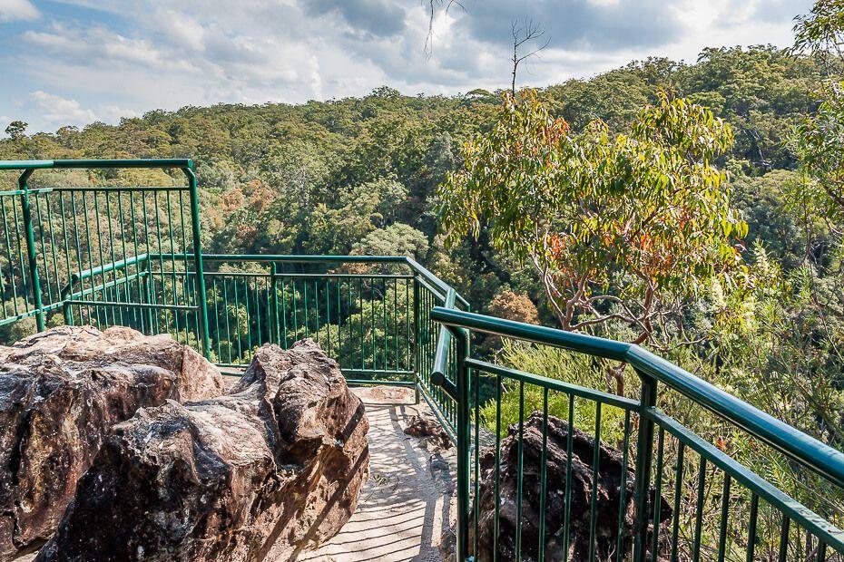 Piles Creek Lookout, Piles Creek Loop, Brisbane Water National Park